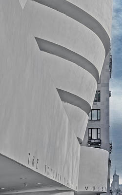 Photograph - Guggenheim Museum And Esb by Susan Candelario