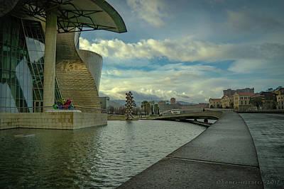 Photograph - Guggenheim Museum Bilbao by Henri Irizarri