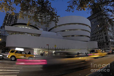 Photograph - Guggenheim Museum New York  by Juergen Held