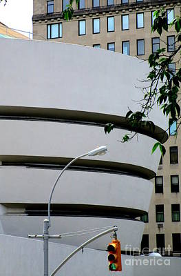 Photograph - Guggenheim New York 1 by Randall Weidner