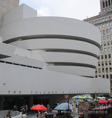 Photograph - Guggenheim New York 3 by Randall Weidner