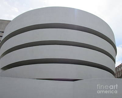Photograph - Guggenheim New York 4 by Randall Weidner