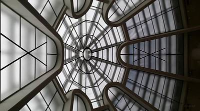 Photograph - Guggenheim Skylight F L W by Rob Hans