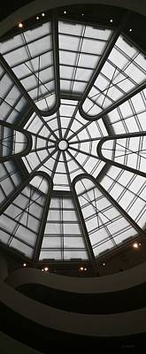 Photograph - Guggenheim Skylight by Rob Hans