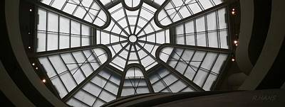 Photograph - Guggenheim Skylight Side by Rob Hans