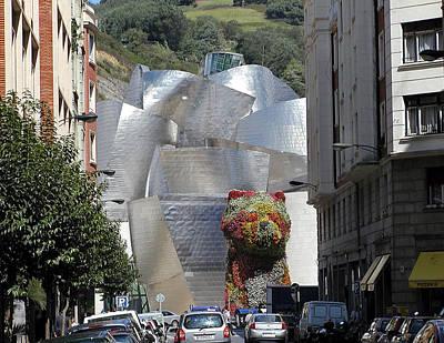 Guggenheim Photograph - Guggenhiem 1 Bilboa Spain by Paul Basile