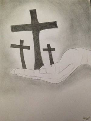 Christian Inspiration Drawing - Guidance by Odom Madden