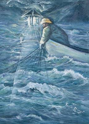 Seascape Painting - Guidance by Renee Dumont  Museum Quality Oil Paintings  Dumont