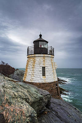 Photograph - Castle Hill Lighthouse by Christopher Villandry