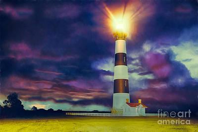 Painting - Guiding Light by Dan Carmichael
