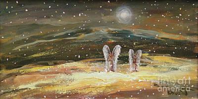 Painting - Guiding Light by Dariusz Orszulik