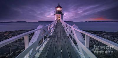 Maine Landscape Photograph - Guiding Light by Marco Crupi