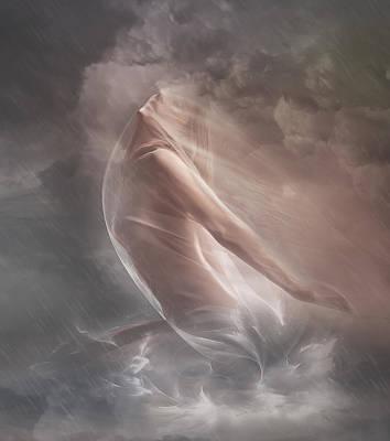 Hope Digital Art - Guiding Light by Mary Hood