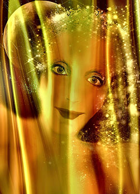 Seraphim Angel Digital Art - Guiding Light by Patricia Motley