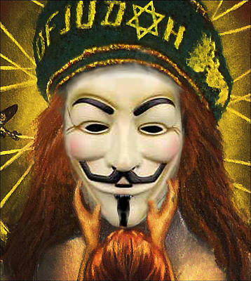 Mixed Media - Guido Fawkes by Ed Meredith