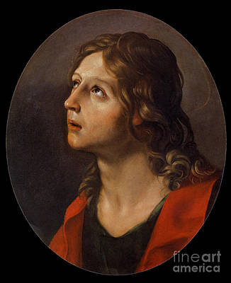 St John The Evangelist Painting - Guido Reni by MotionAge Designs