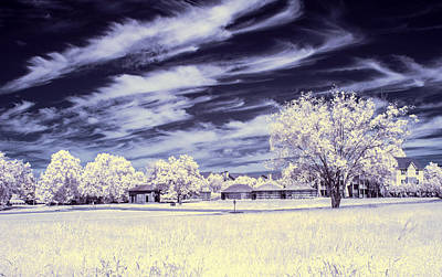 Photograph - Guignard Brick Works In Ir by Charles Hite