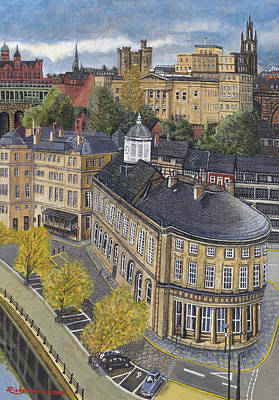 Law Courts Painting - Guild Hall Castle by James Richardson