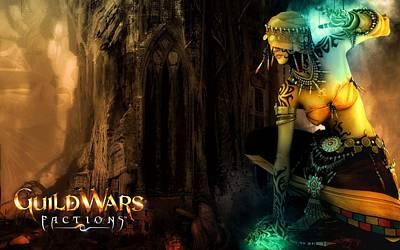 Guild Wars Factions 2 Art Print