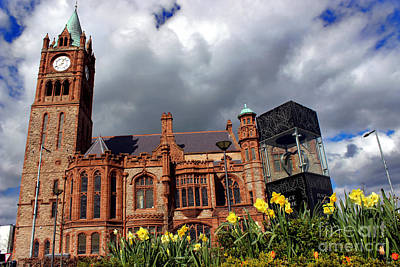 Photograph - Guildhall In Derry by Nina Ficur Feenan