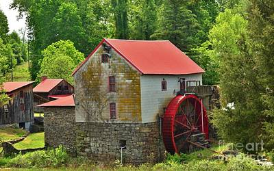 Photograph - Guilford Grist Mill - 3 by Bob Sample