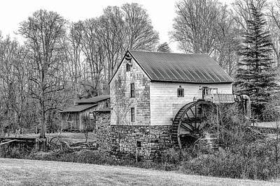 Guilford Mill Art Print by Paul Malcolm