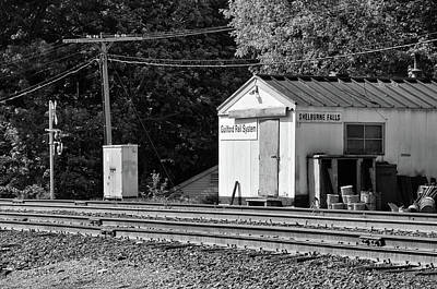 Photograph - Guilford Rail System Station by Mike Martin