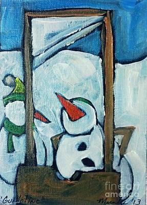 Painting - Guillotine  by John Stillmunks