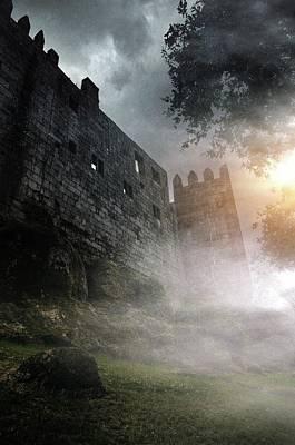 Photograph - Guimaraes Castle by Carlos Caetano