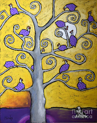 Guinea Tree Of Life Art Print by David Hinds