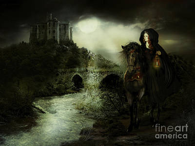 Avalon Digital Art - Guinevere by Shanina Conway