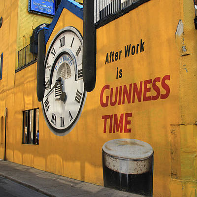 Beer Royalty-Free and Rights-Managed Images - Guinness Beer 2 by Andrew Fare