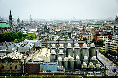Photograph - Guinness Brewery In Dublin by RicardMN Photography