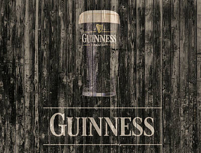 Beer Royalty-Free and Rights-Managed Images - Guinness by Dan Sproul