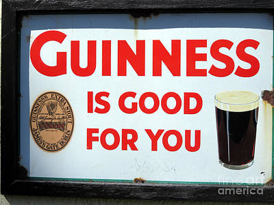 Photograph - Day 6 Guinness Good For You by Cindy Murphy - NightVisions
