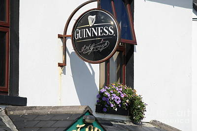 Photograph - Guinness by Mary-Lee Sanders