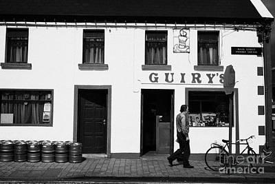 County Mayo Photograph - Guirys Irish Pub Foxford County Mayo Ireland by Joe Fox