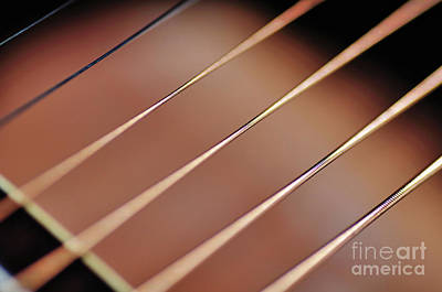 Photograph - Guitar Abstract 2 by Kaye Menner