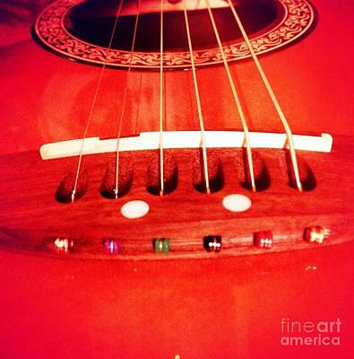Photograph - Guitar by Denise Railey