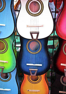 Photograph - Guitar Garden by Tony Grider