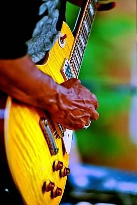 Guitar Hand Art Print