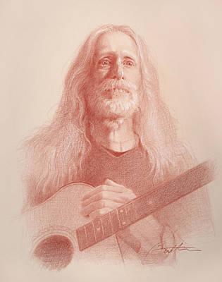 Guitar Hank Original by Todd Baxter