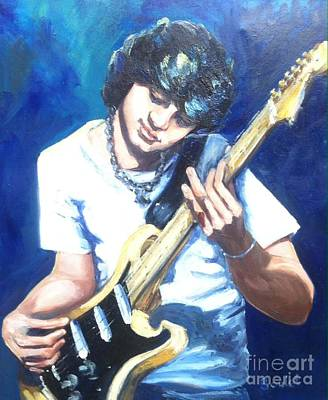Painting - Guitar Love by Beverly Boulet