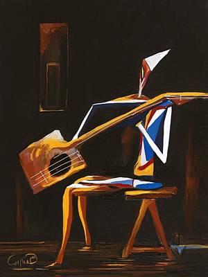 Guitar Man Original by Hitham Said