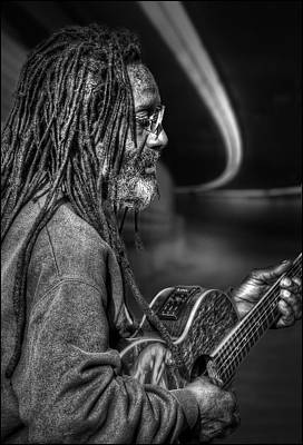 Photograph - Guitar Man by Rick Mosher