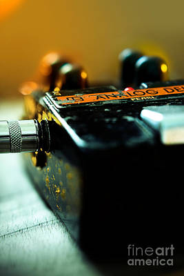 Photograph - Guitar Pedal by Minolta D