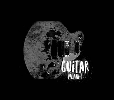 Photograph - Guitar Planet  by Guitar Wacky