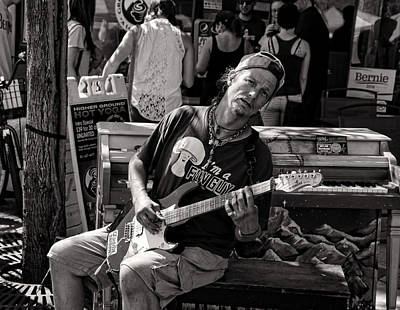 Photograph - Guitar Player by Ely Arsha