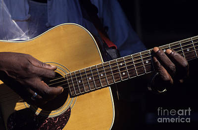 Photograph - Guitar Player by Jim Corwin