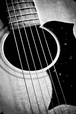 Photograph - Guitar Strings by Athena Mckinzie